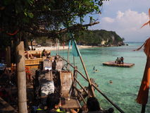 Praia Filipinas de Boracay Foto de Stock