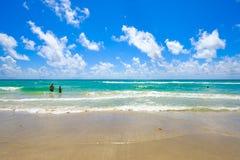 Praia Florida de Hollywood Imagens de Stock
