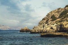 Praia francesa 2 do ` s Imagem de Stock