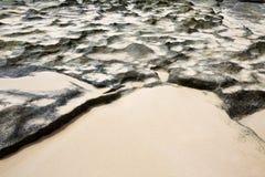 Praia Fuerteventura de Corralejo em Ilhas Canárias Foto de Stock