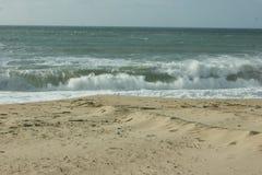 Praia gör Areal ingen Verão - Lourinhã - Portugal Royaltyfri Bild
