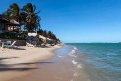 PRAIA GÖR FRANCES, BRASILIEN Fotografering för Bildbyråer