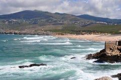 Praia gör Guincho Fotografering för Bildbyråer