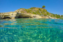 Praia Grécia Imagem de Stock Royalty Free