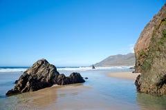 Praia grande de Sur Imagem de Stock