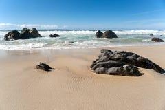 Praia grande de Sur Fotografia de Stock Royalty Free