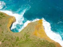 Praia grande oceano estrada em Austrália - fotos de stock royalty free