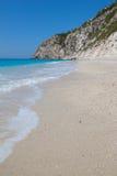 Praia grega Foto de Stock
