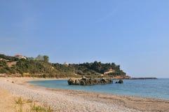 Praia grega Imagens de Stock Royalty Free