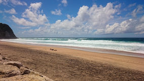 Praia groß Stockbild
