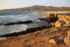 Praia guincho Lizenzfreies Stockfoto