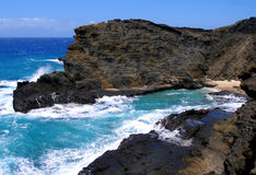 Praia havaiana Fotografia de Stock Royalty Free