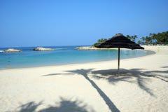 Praia havaiana tropical Foto de Stock Royalty Free