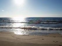Praia ideal Imagens de Stock