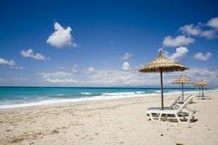 Praia ideal Fotografia de Stock Royalty Free