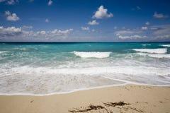 Praia ideal Fotos de Stock Royalty Free