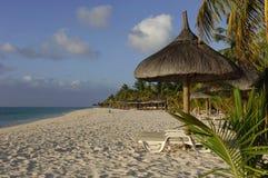 Praia-idyll Fotografia de Stock