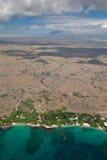 Praia 69, ilha grande, Havaí Imagem de Stock Royalty Free