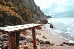 Praia impressionante Imagem de Stock
