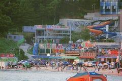 Praia Incheon lateral Foto de Stock Royalty Free