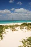 Praia intacta Fotografia de Stock