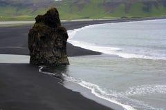 Praia islandêsa Imagem de Stock Royalty Free