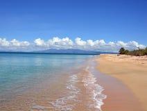 Praia isolado Imagens de Stock