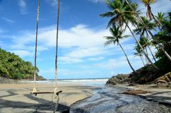 Praia Itacare de Brasil Fotos de Stock Royalty Free