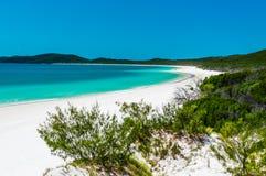 Praia IV de Whitehaven Fotografia de Stock