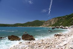 Praia Jaz Fotografia de Stock Royalty Free