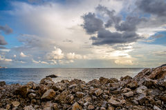 A praia Jaz Imagens de Stock Royalty Free
