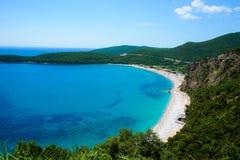 Praia Jaz Adriatic Sea foto de stock royalty free