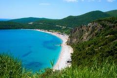 Praia Jaz Adriatic Sea imagens de stock