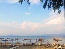 Praia, Kavos, Grécia fotos de stock