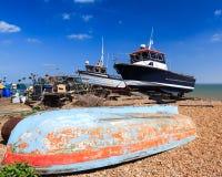 Praia Kent England do negócio imagem de stock