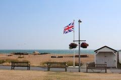 Praia Kent Reino Unido do negócio fotos de stock