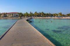 Praia Key West de Higgs Foto de Stock