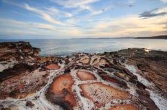 Praia Kilcare da massa de vidraceiro fotos de stock