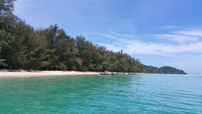 Praia Koh Muk foto de stock royalty free
