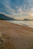 Praia Koh Samui de Lamai, Tailândia Imagem de Stock Royalty Free