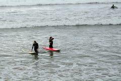Praia, Lahinch, Irlanda Fotografia de Stock Royalty Free