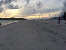 Praia Langkawi de Chenang Imagens de Stock Royalty Free