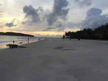 Praia Langkawi de Chenang Foto de Stock