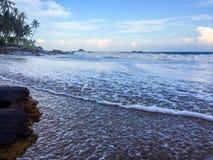 Praia #4 lateral fotografia de stock