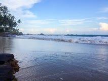Praia #2 lateral fotografia de stock