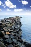 Praia lindo Imagens de Stock