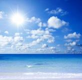 Praia lindo Fotos de Stock