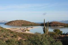 Praia México de Baja California Fotografia de Stock Royalty Free