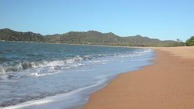 Praia magnética da ilha, baía em ferradura filme
