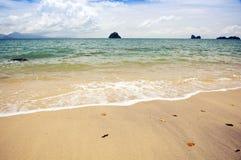 Praia malaia Fotos de Stock Royalty Free